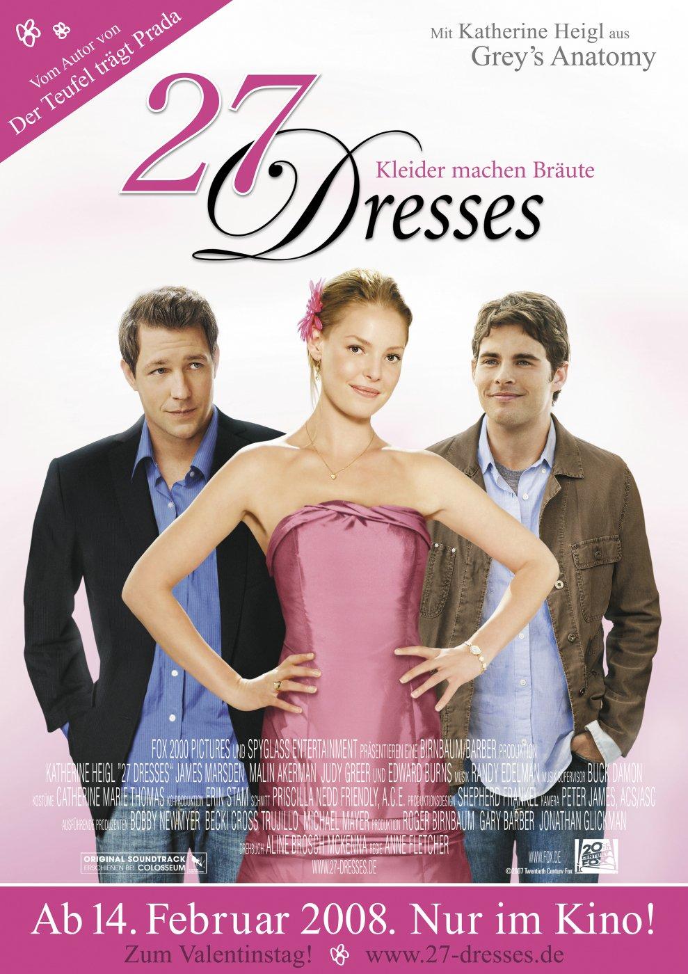 27 Dresses (2008) poster - FreeMoviePosters.net