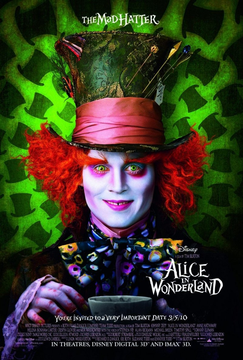 Alice in Wonderland (2010) poster - FreeMoviePosters.net