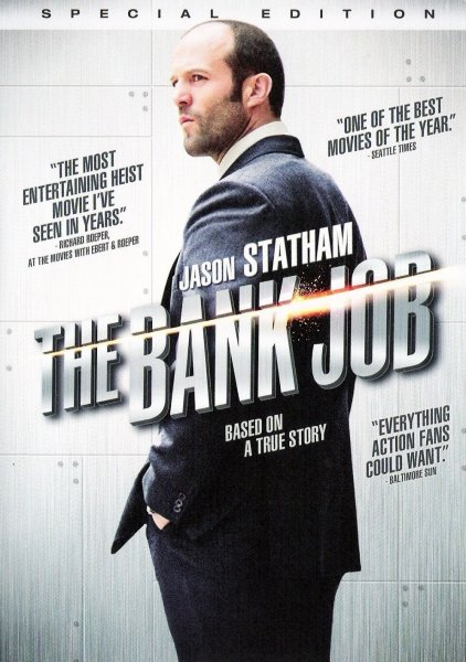 Bank Job, The poster