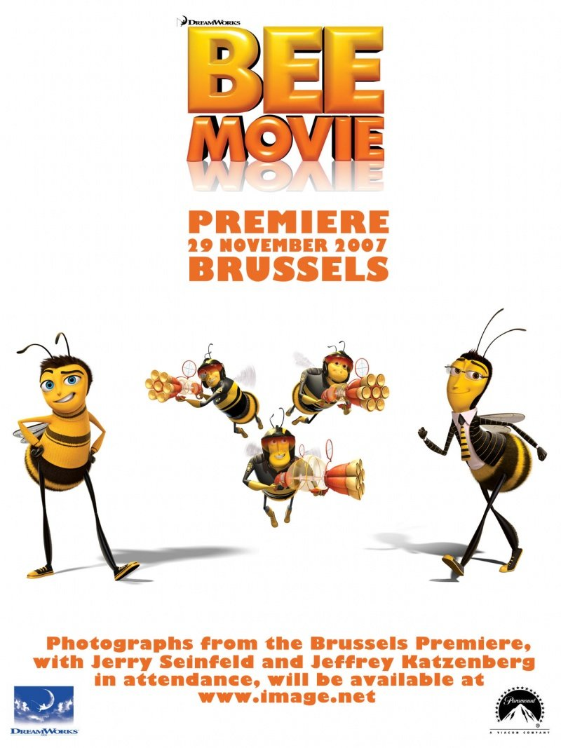 Bee Movie (2007) poster - FreeMoviePosters.net