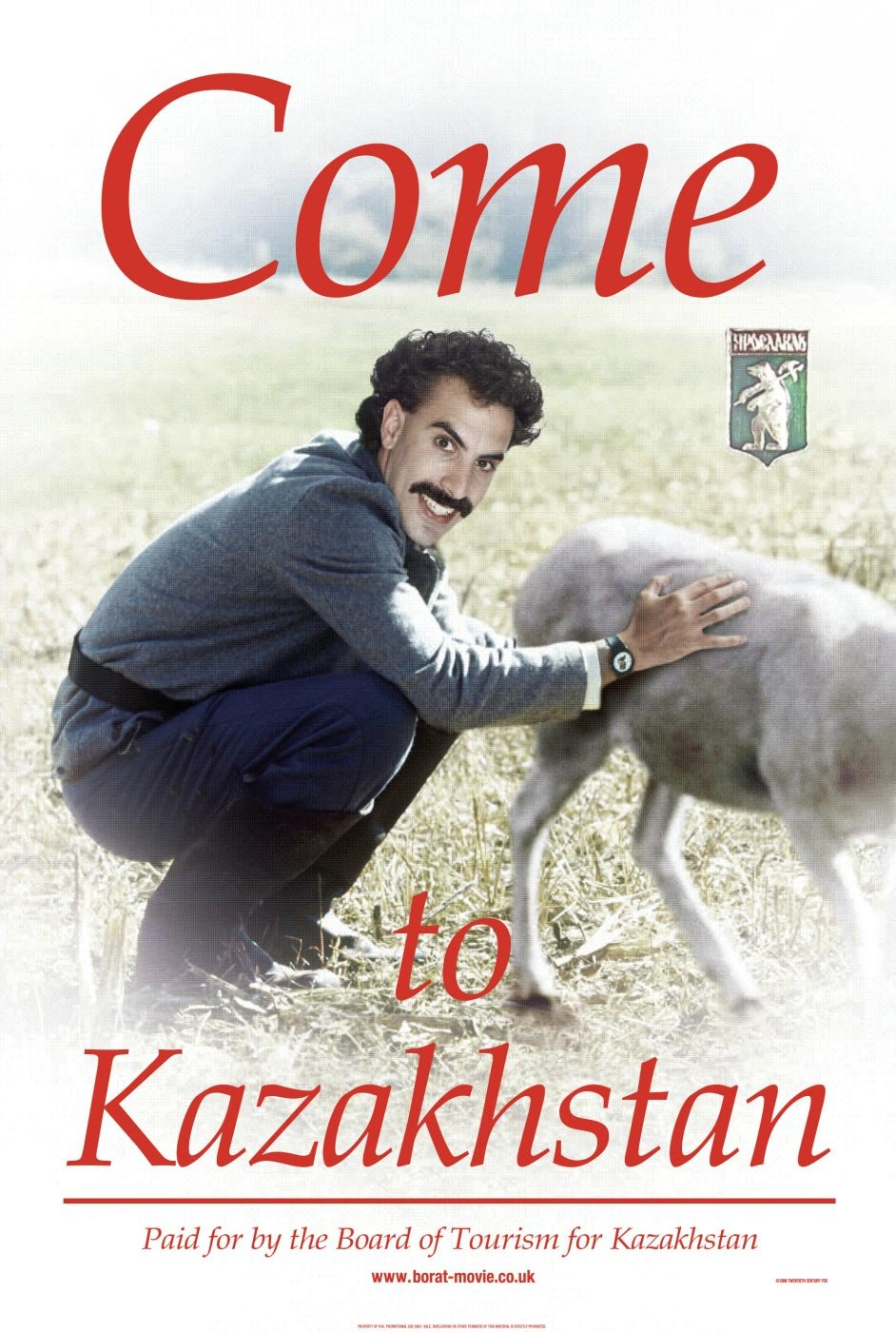 Borat Cultural Learnings Of America For Make Benefit Glorious Nation Of Kazakhstan 2006 Poster Freemovieposters Net