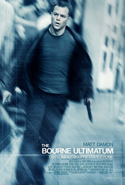 Bourne Ultimatum, The poster