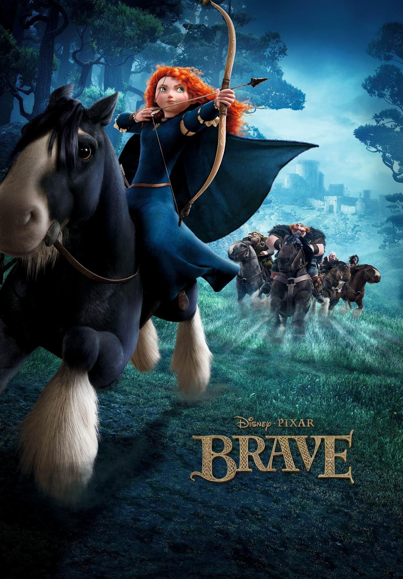 Disney Pixar Brave Movie