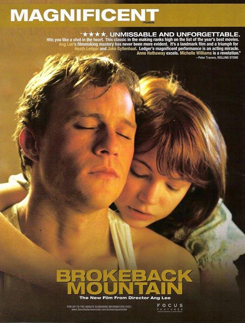 Brokeback Mountain 2005 Poster Freemovieposters Net