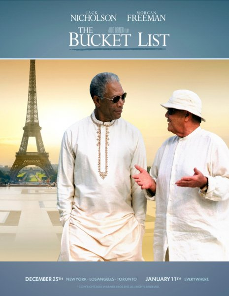 Bucket List, The poster