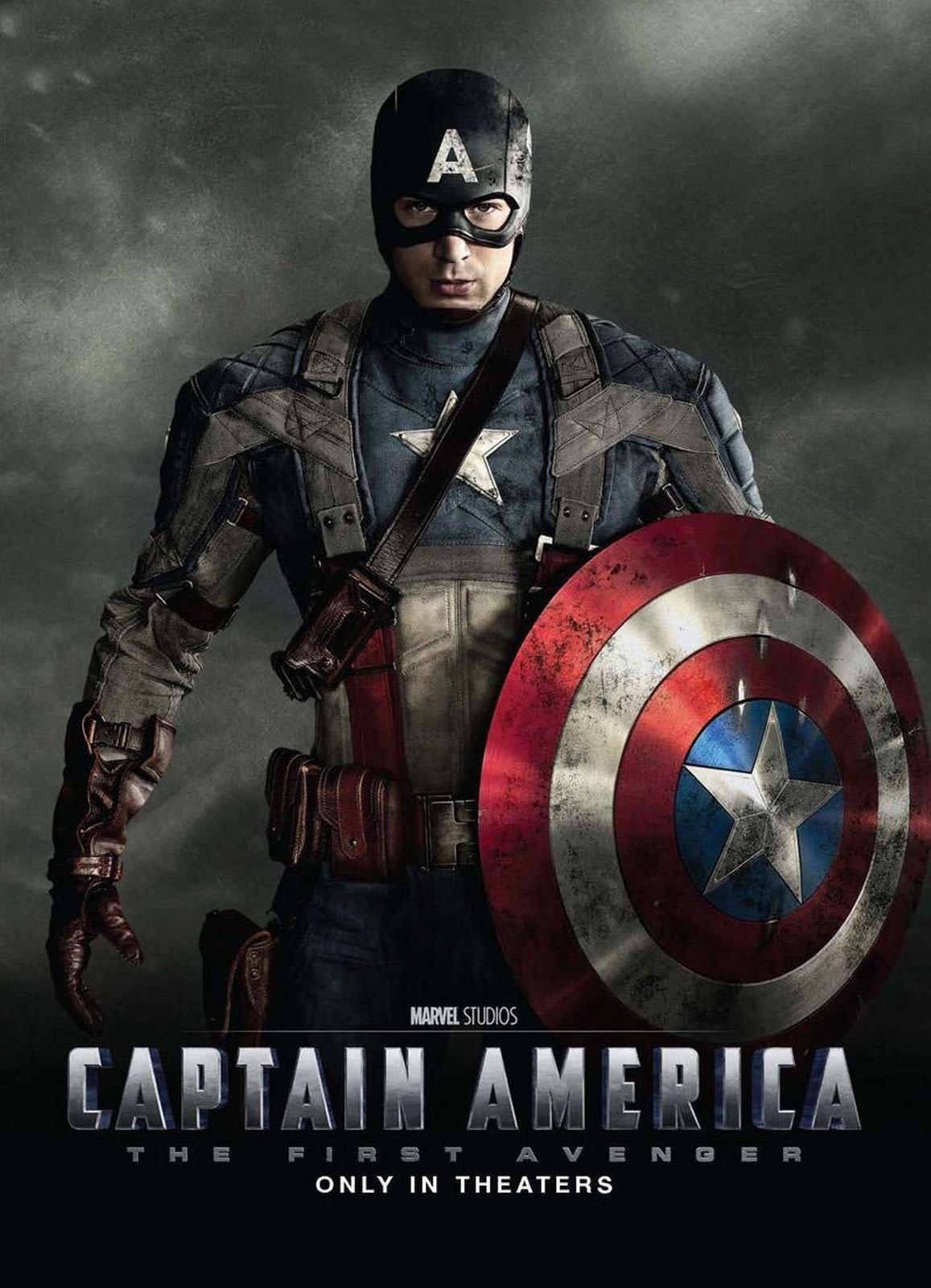 Captain america the first avenger 2011 poster freemovieposters