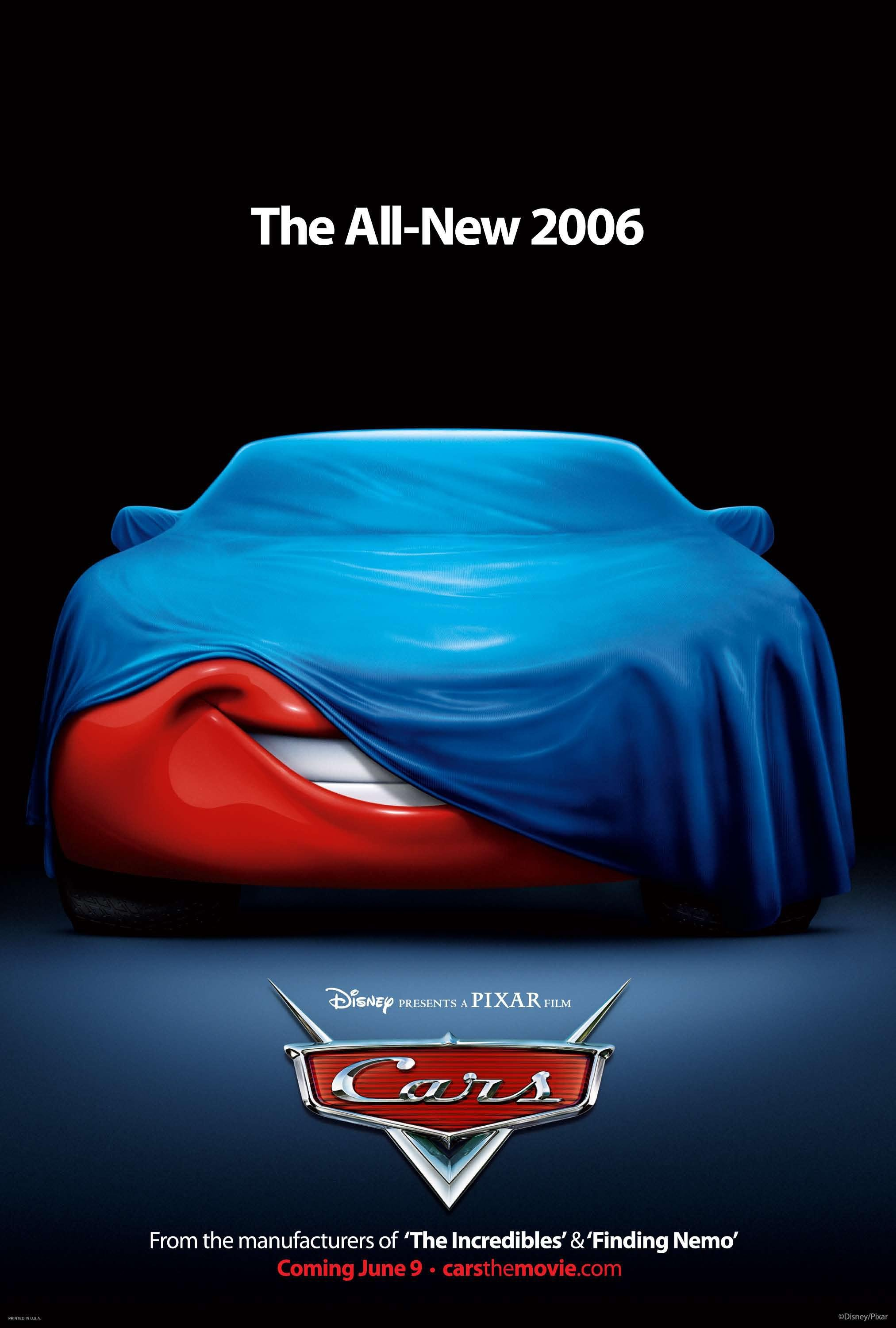Disney Pixar Cars 2006 Movie