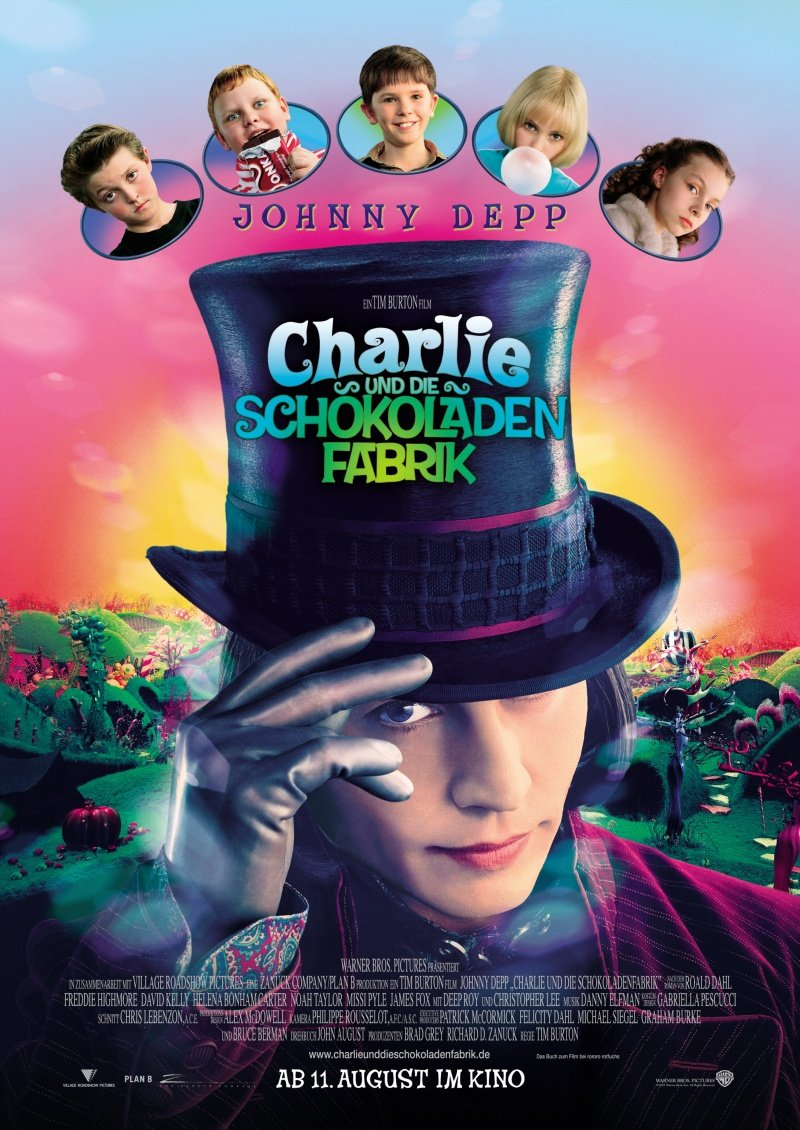 Charlie and the Chocolate Factory movies in Germany