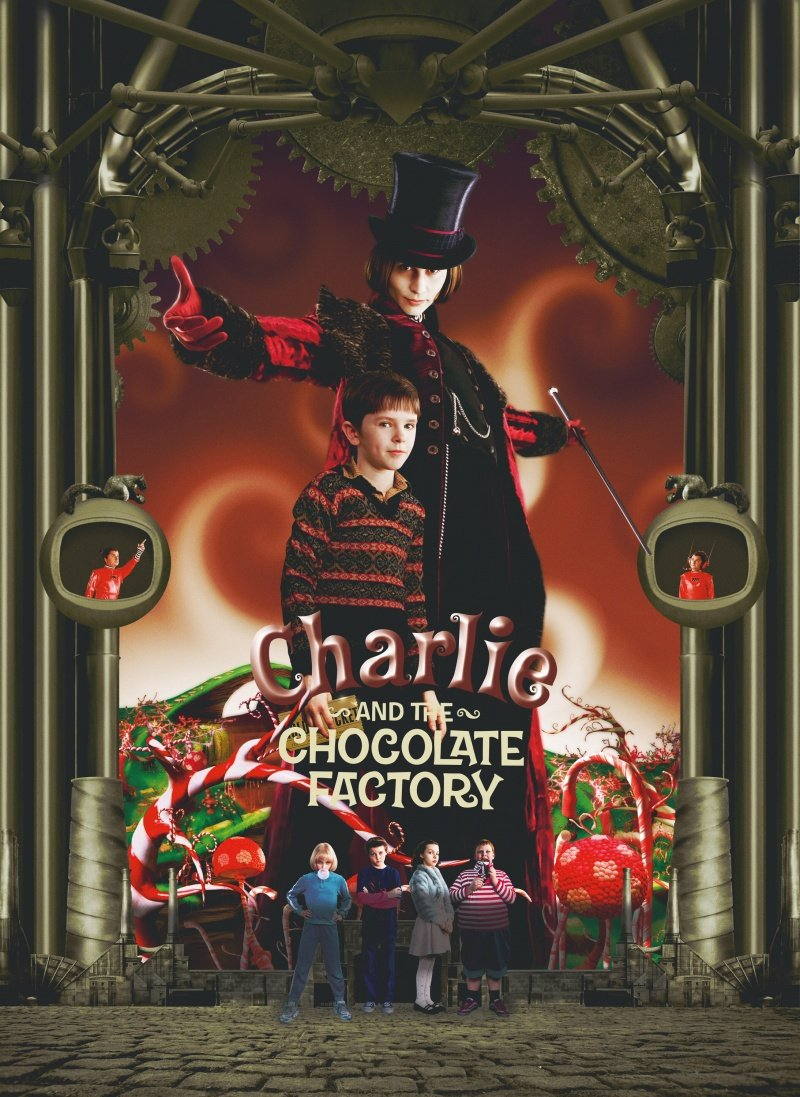 Charlie and the Chocolate Factory  2005  posterCharlie And The Chocolate Factory Movie Poster