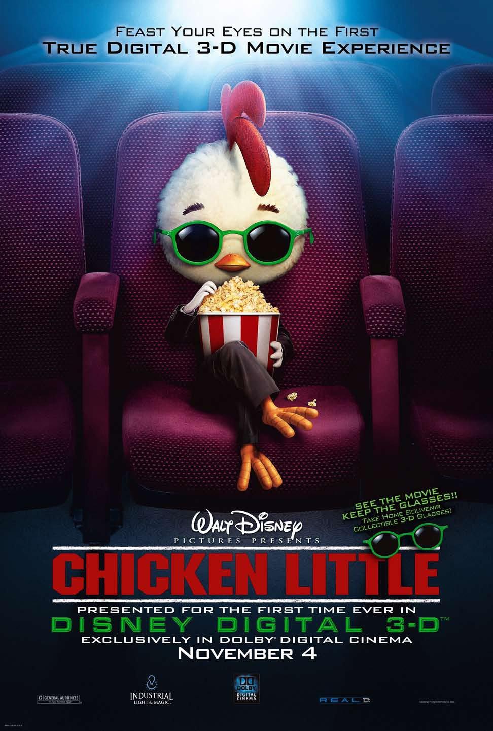 Chicken little (2005) poster