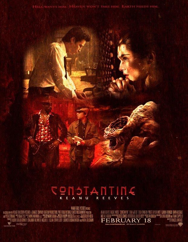 Constantine (2005) poster - FreeMoviePosters.net