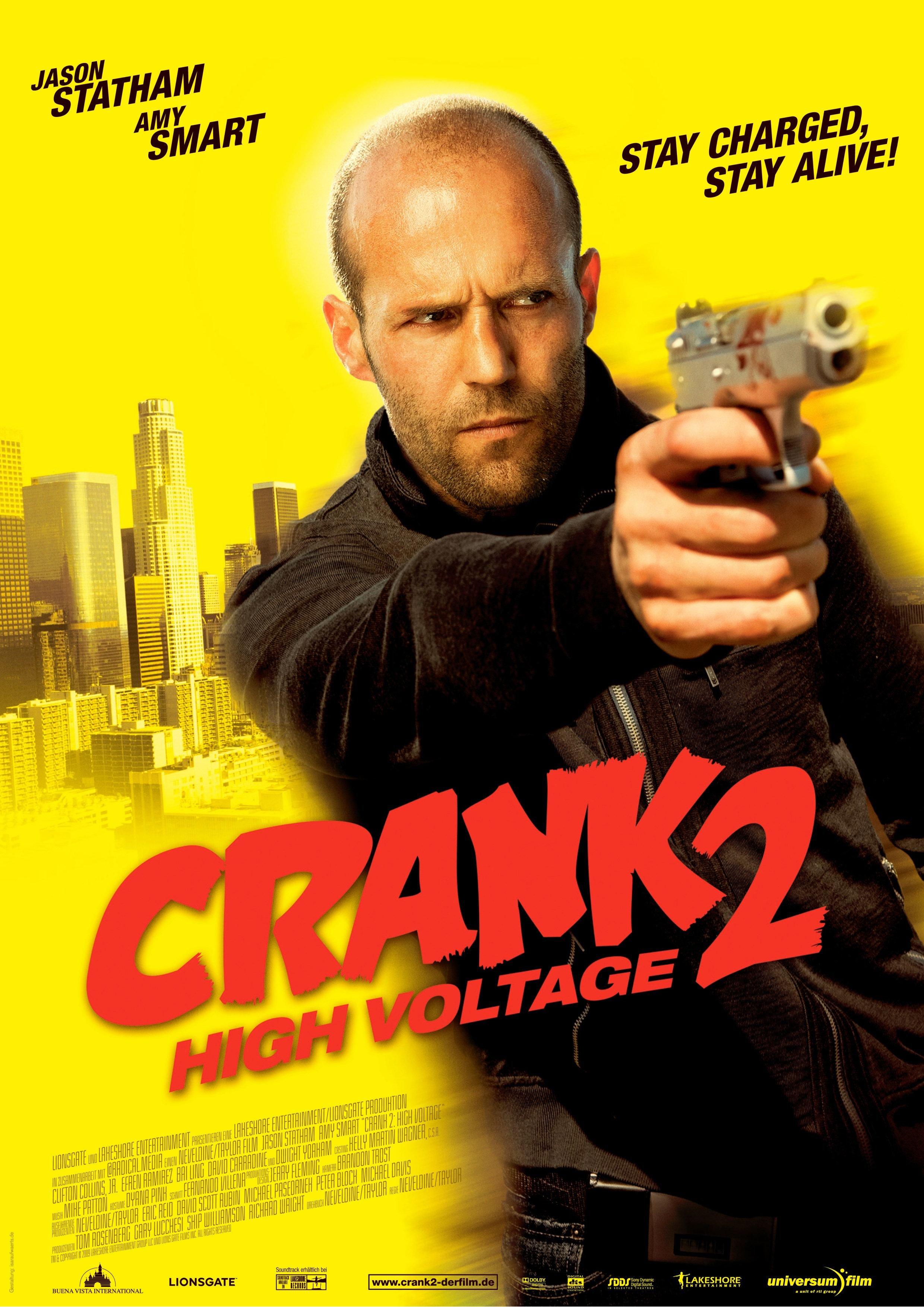 crank  high voltage  2009  poster