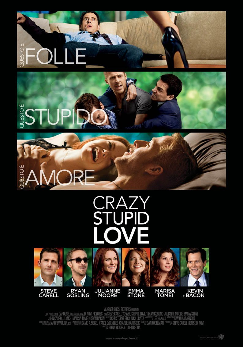 Crazy stupid love 2011 poster