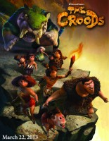 Croods, The poster
