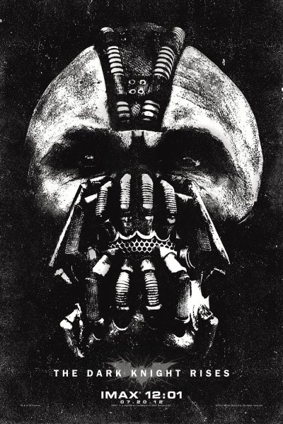 Dark Knight Rises, The poster