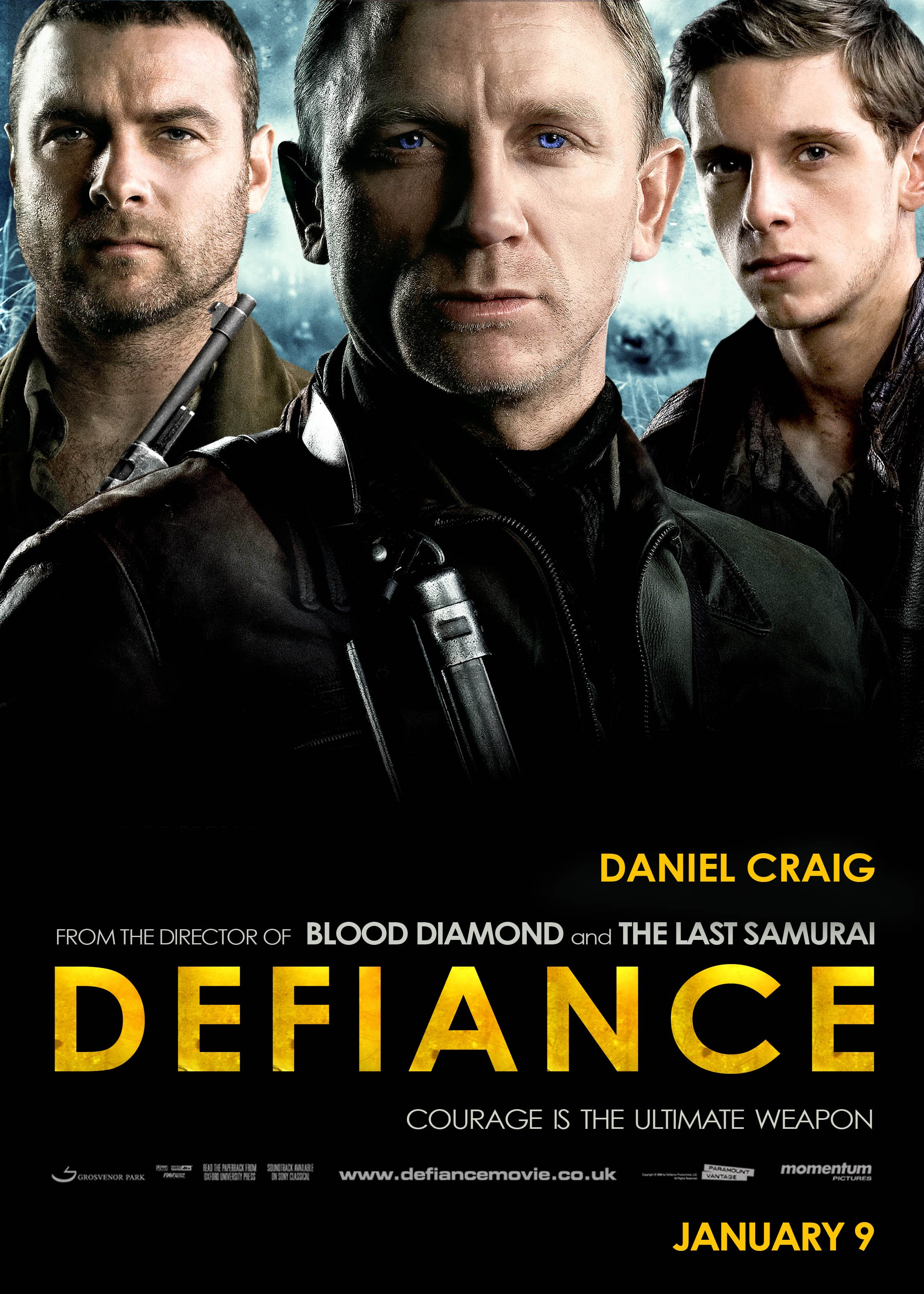 Defiance (2008) poster...