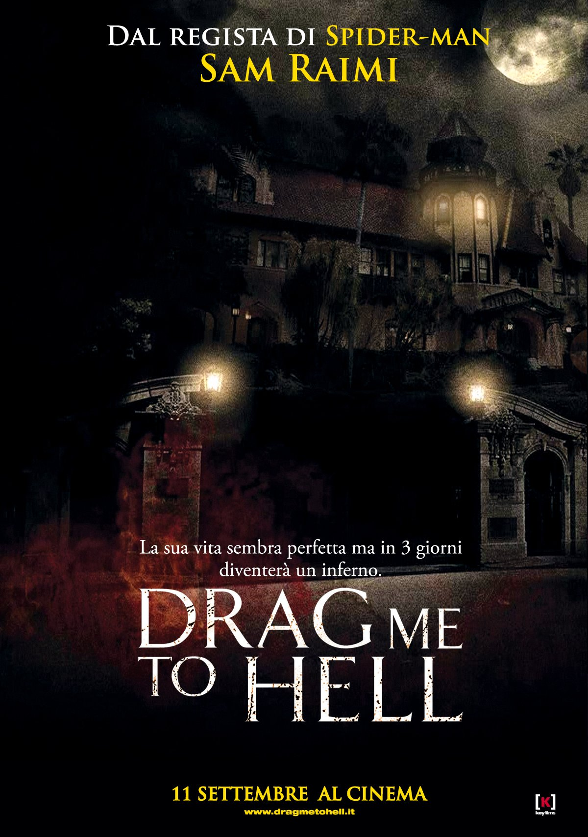 Drag Me To Hell 2009 Poster Freemovieposters Net