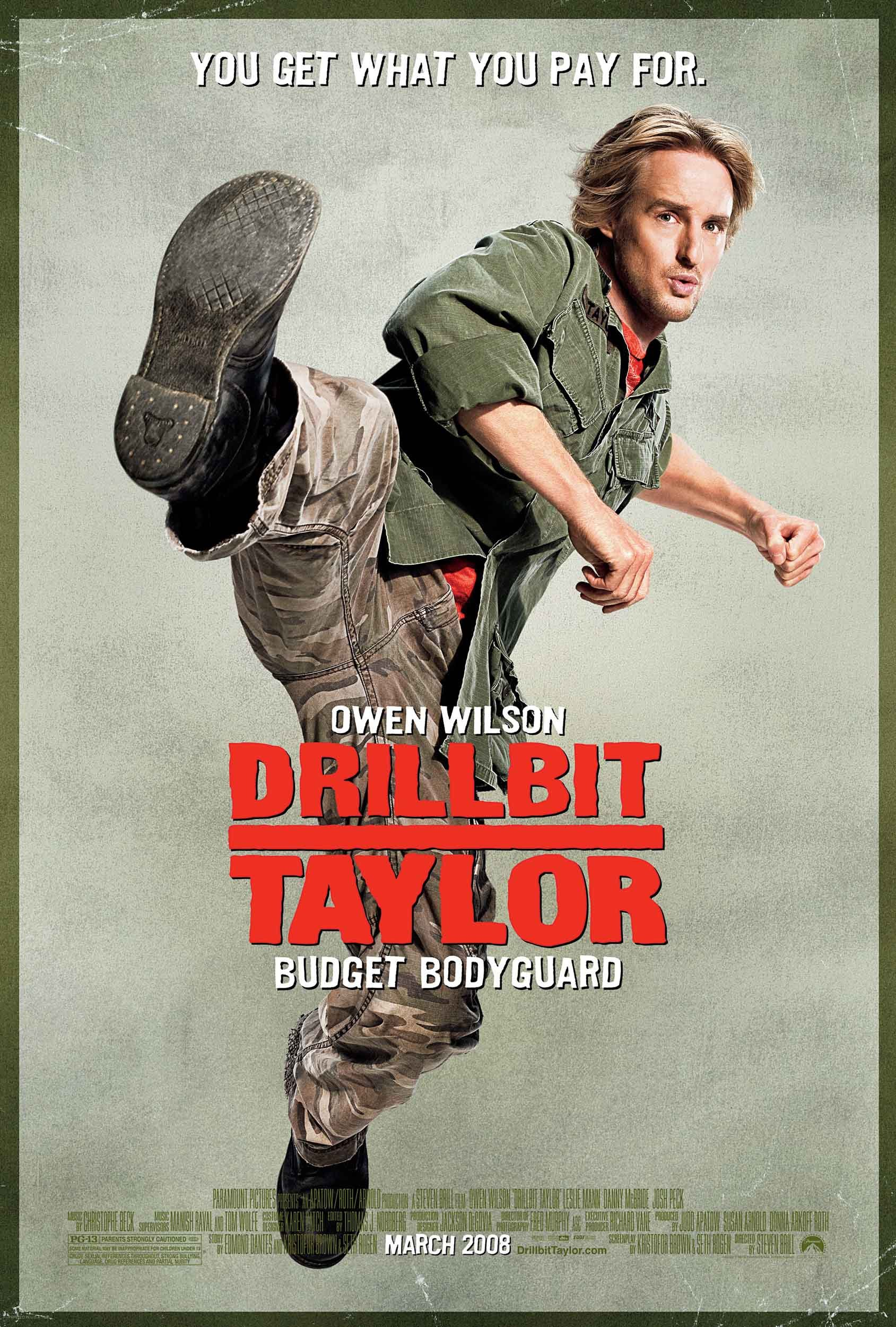 drillbit taylor 2008 poster. Black Bedroom Furniture Sets. Home Design Ideas