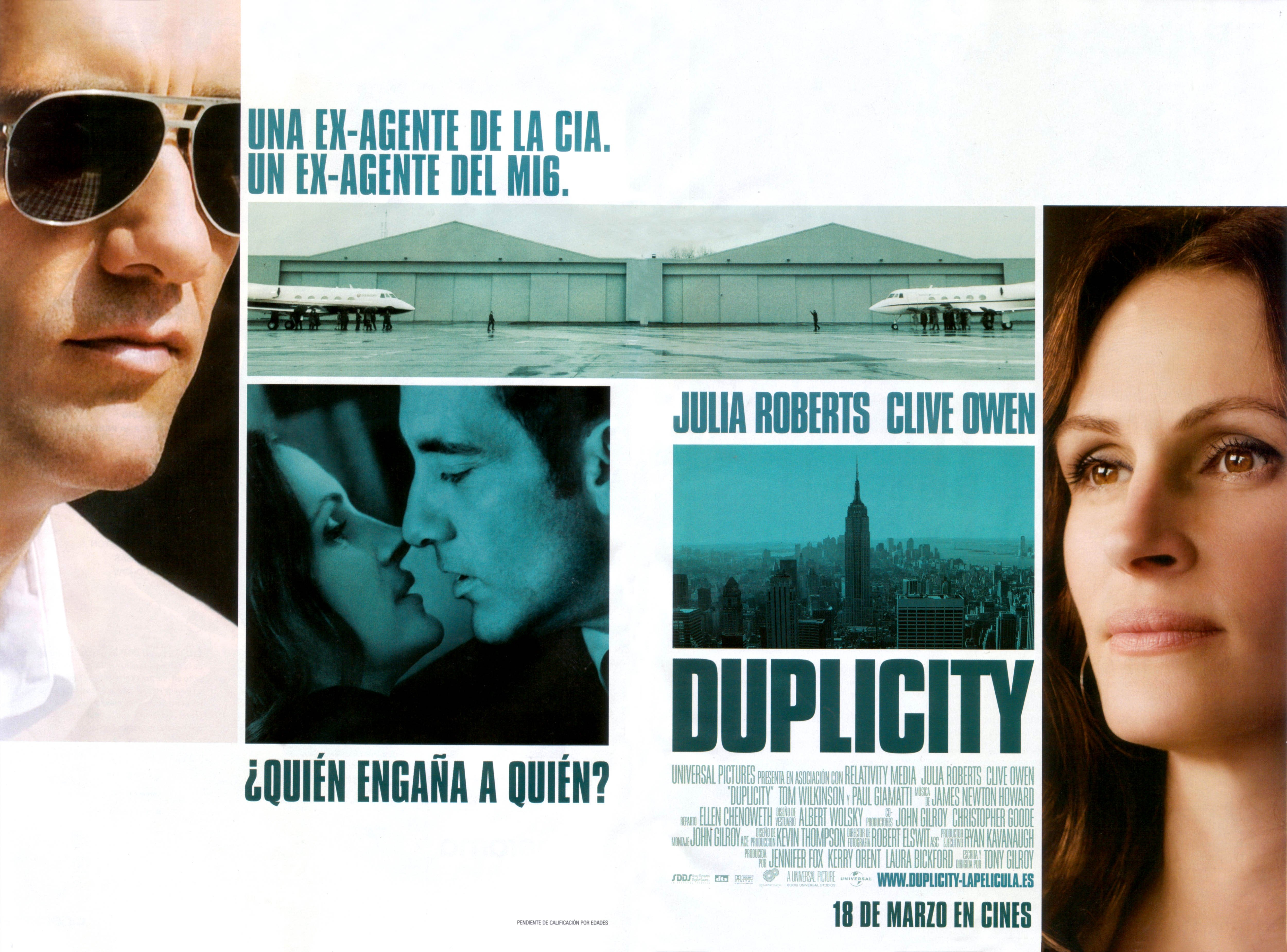 Movie Posters 2009: Duplicity (2009) Poster