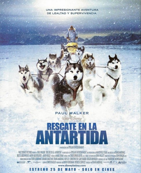 Eight Below poster