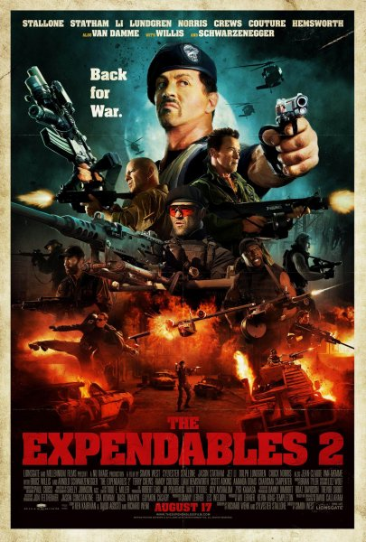 Expendables 2, The poster