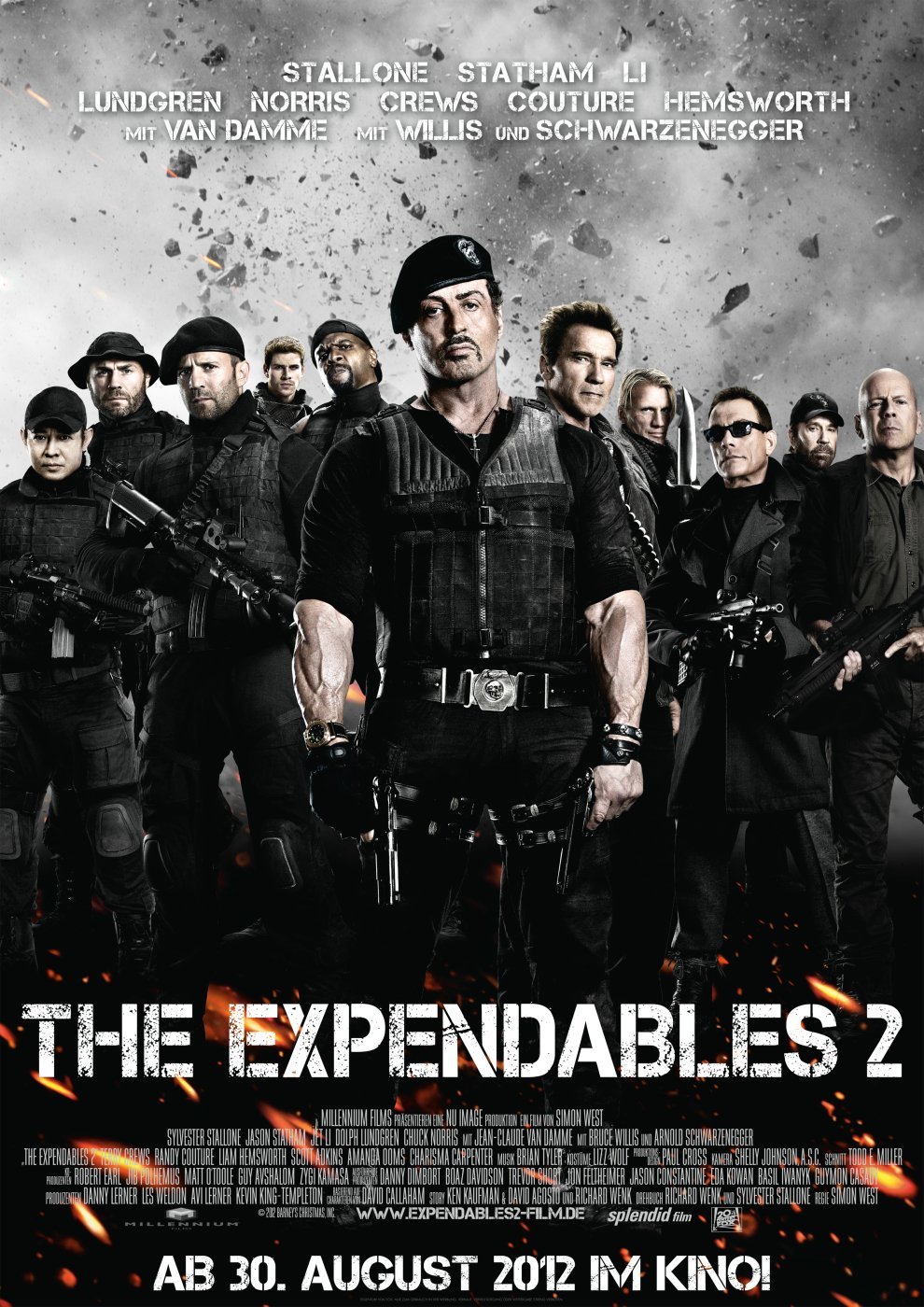 Expendables 2, The (2012) poster - FreeMoviePosters.net