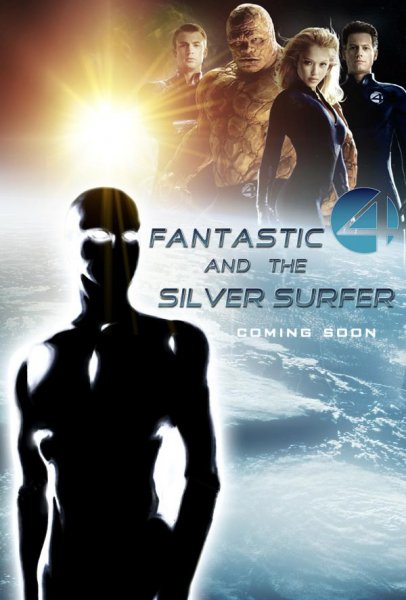 Fantastic Four: Rise of the Silver Surfer poster