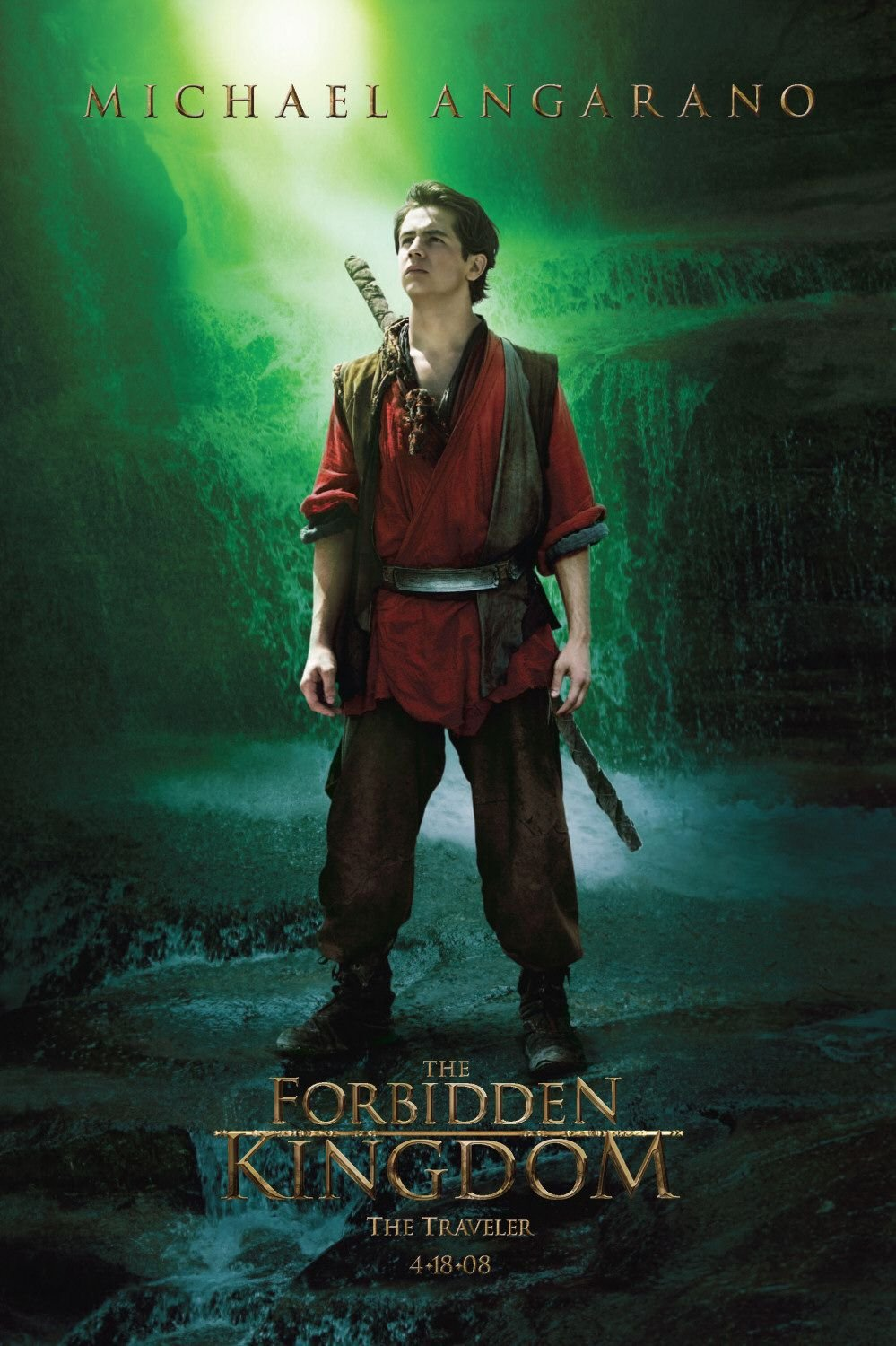 Forbidden Kingdom, The (2008) poster - FreeMoviePosters.net