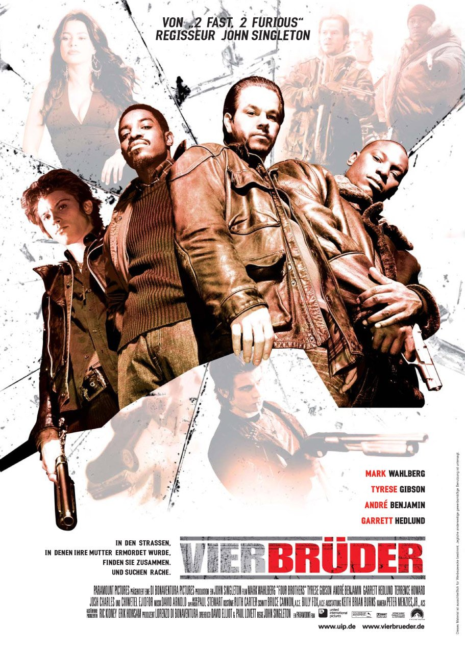 Four Brothers (2005) poster - FreeMoviePosters.net