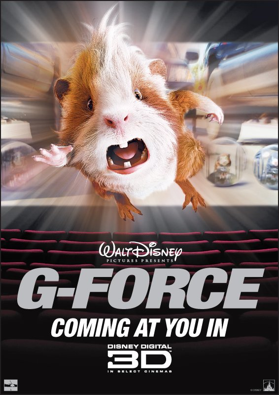 G Force 2009 Poster Freemovieposters Net