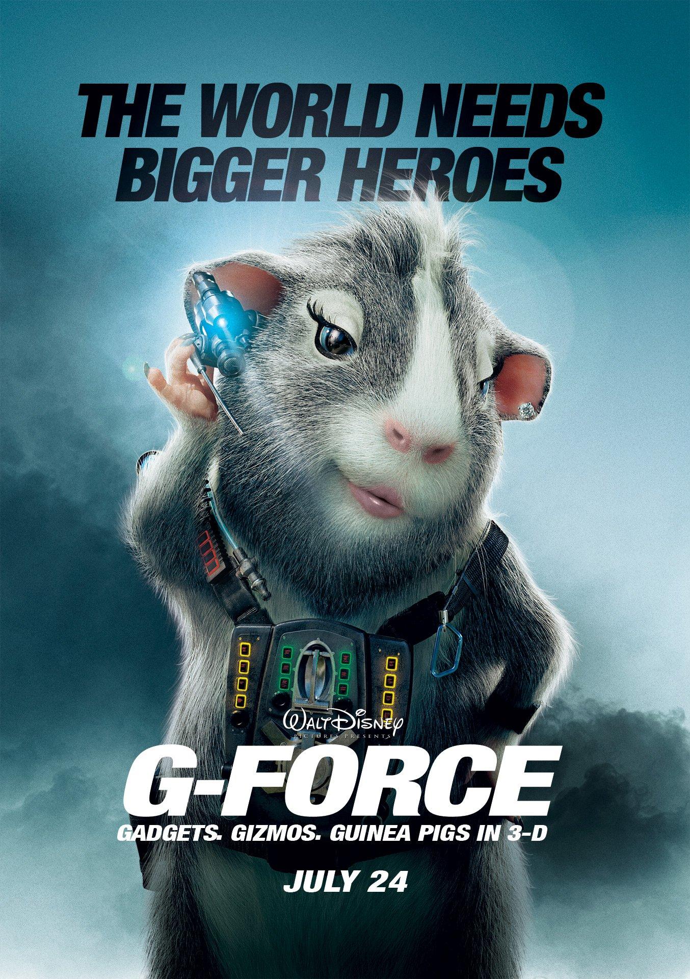gforce 2009 poster freemoviepostersnet