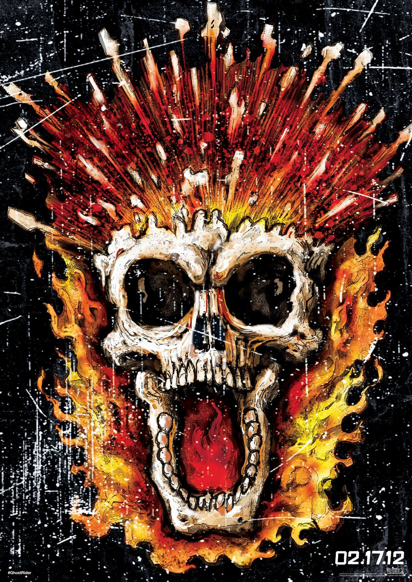 Ghost Rider: Spirit of Vengeance (2012) poster