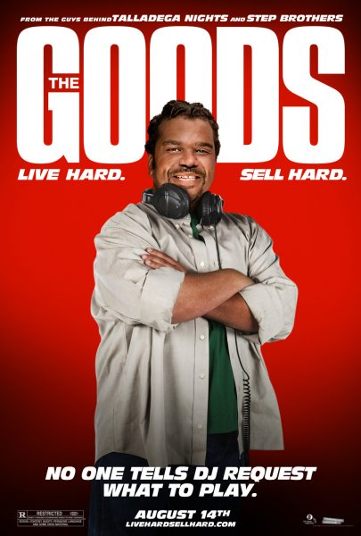 Goods: Live Hard, Sell Hard, The poster