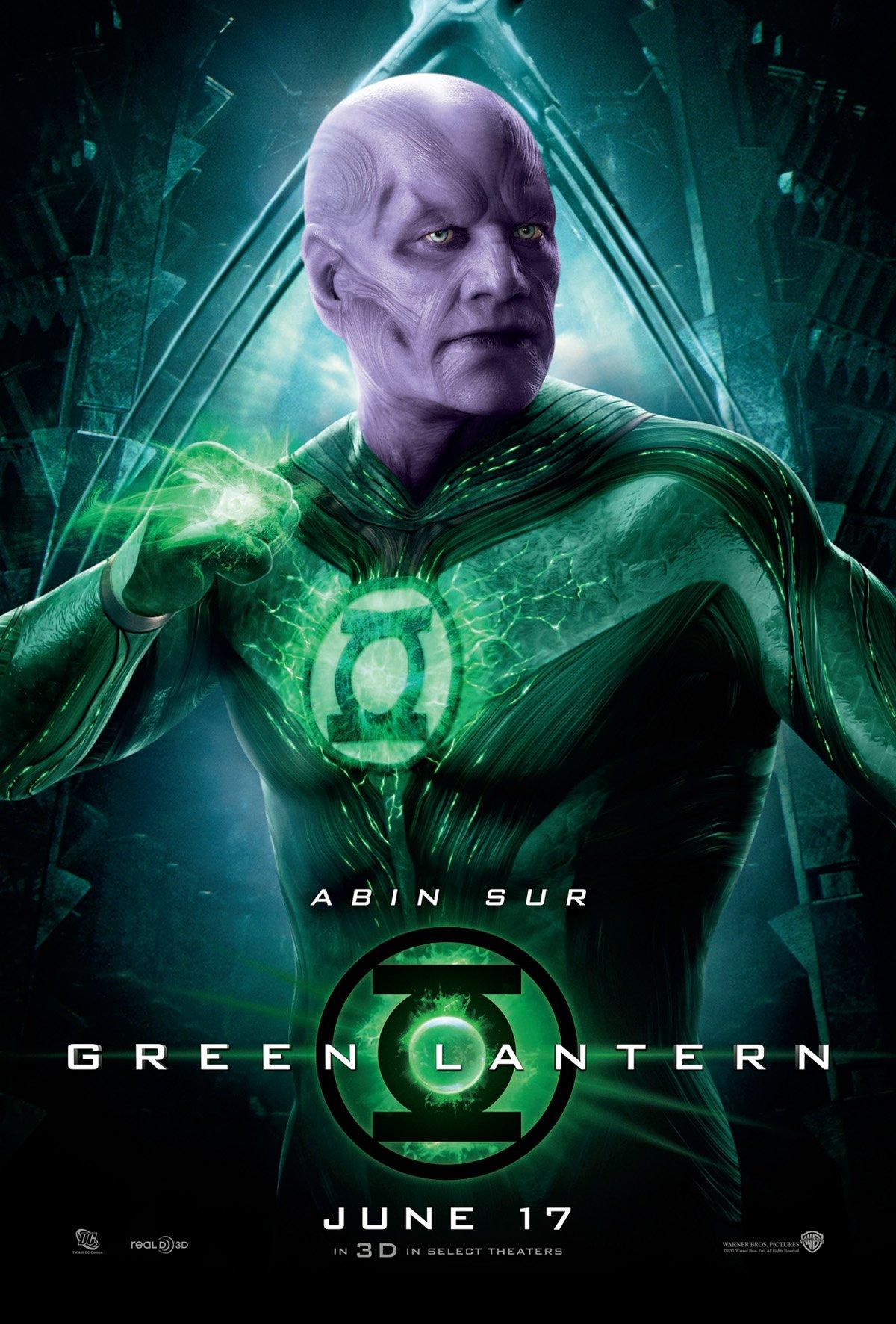 Green Lantern (2011) poster - FreeMoviePosters.net Green Lantern Movie Poster