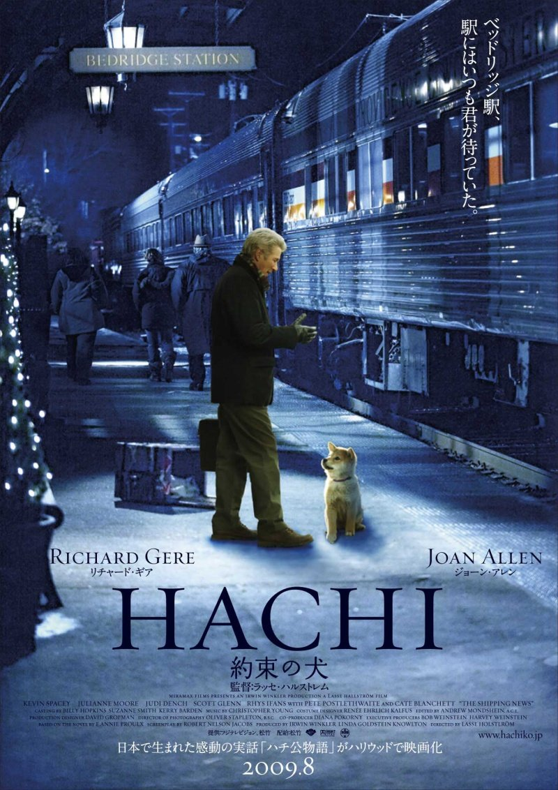 Hachiko: A Dog's Story (2009) poster - FreeMoviePosters.net