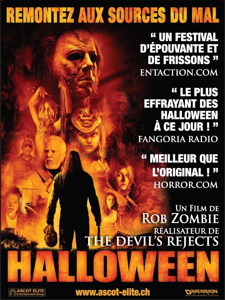 Halloween (2007) poster - FreeMoviePosters.net