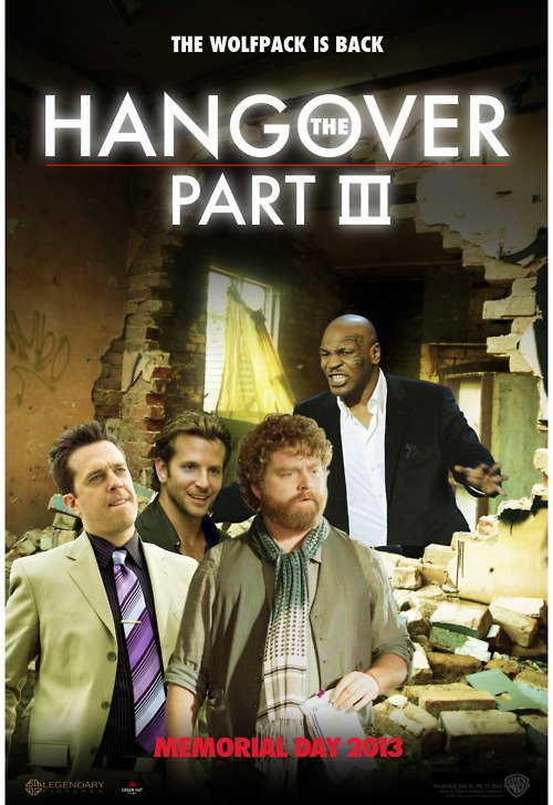 The Hangover Part III Movie Posters From Movie Poster Shop