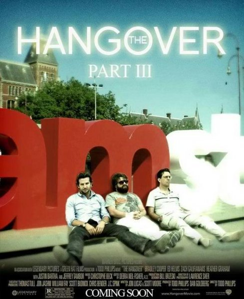 Hangover Part III, The poster