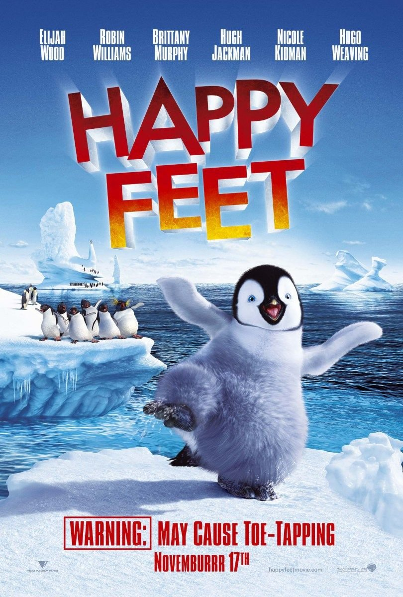 Happy Feet (2006) poster - FreeMoviePosters.net