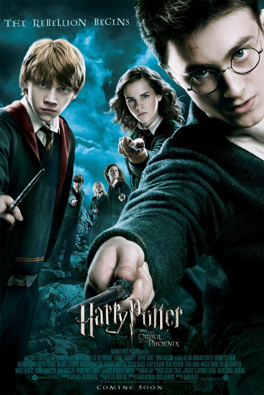Harry Potter And The Order Of Phoenix Movie