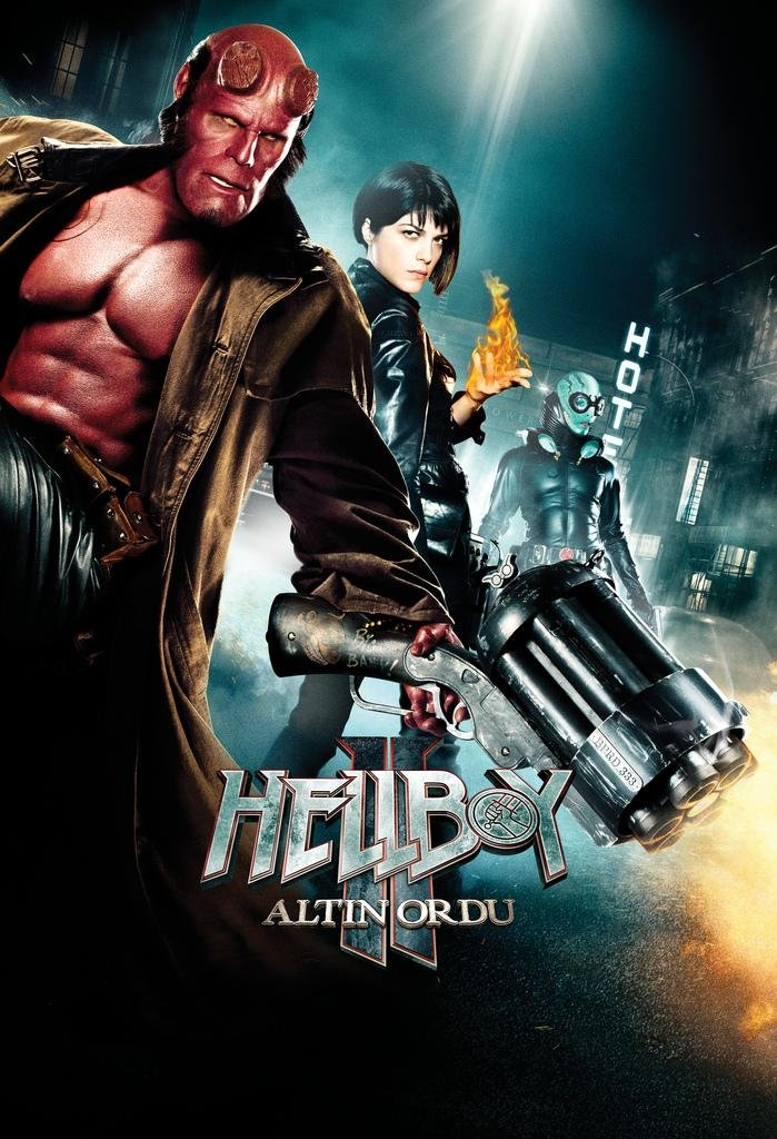 hellboy ii the golden army 2008 poster