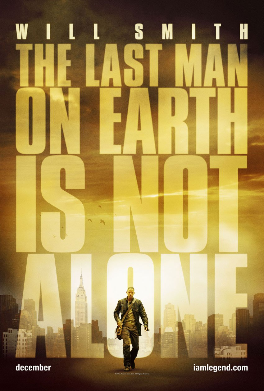I Am Legend Movie Poster I Am Legend (2007) pos...
