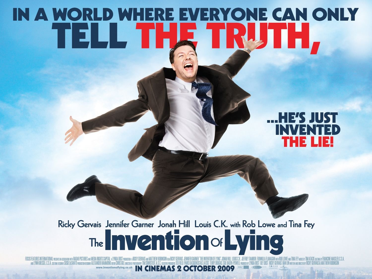 Movie Posters 2009: Invention Of Lying, The (2009) Poster