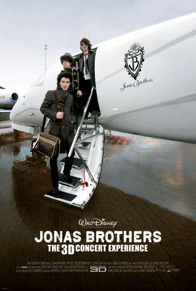 Jonas Brothers: The 3D Concert Experience poster