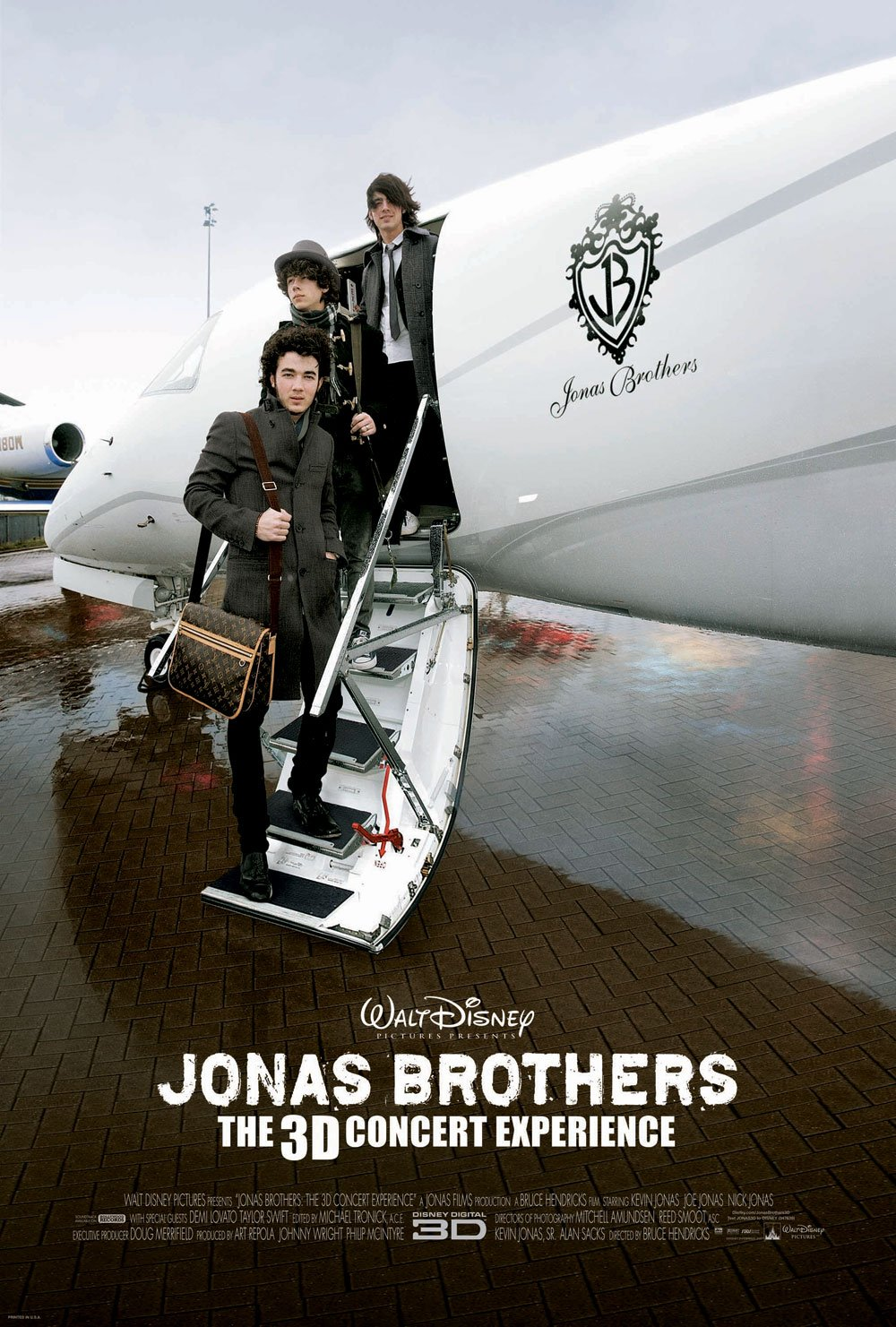 jonas brothers the 3d concert experience 2009 poster