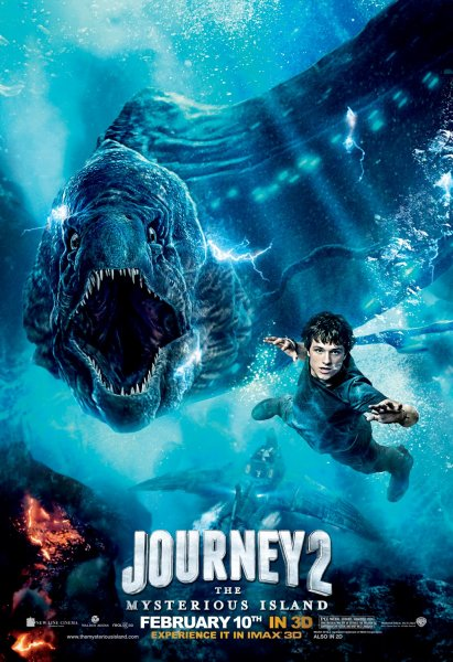 Journey 2: The Mysterious Island poster