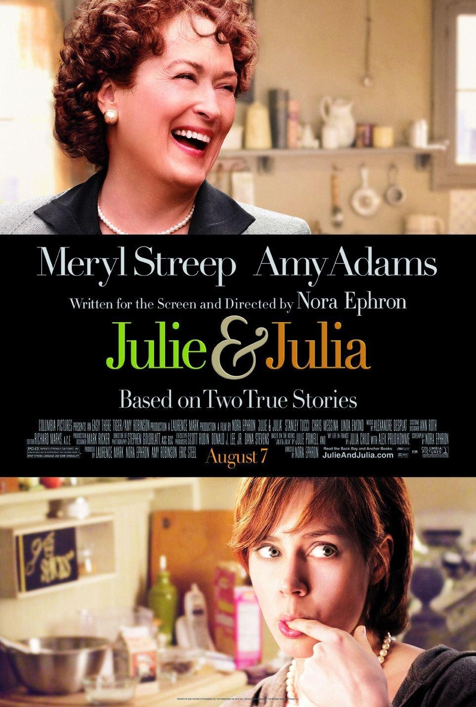 Julie & Julia (2009) poster - FreeMoviePosters.net