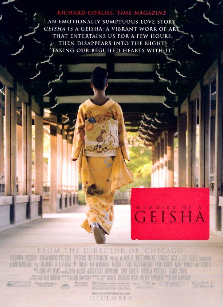 Memoirs of a Geisha (2005) poster - FreeMoviePosters.net
