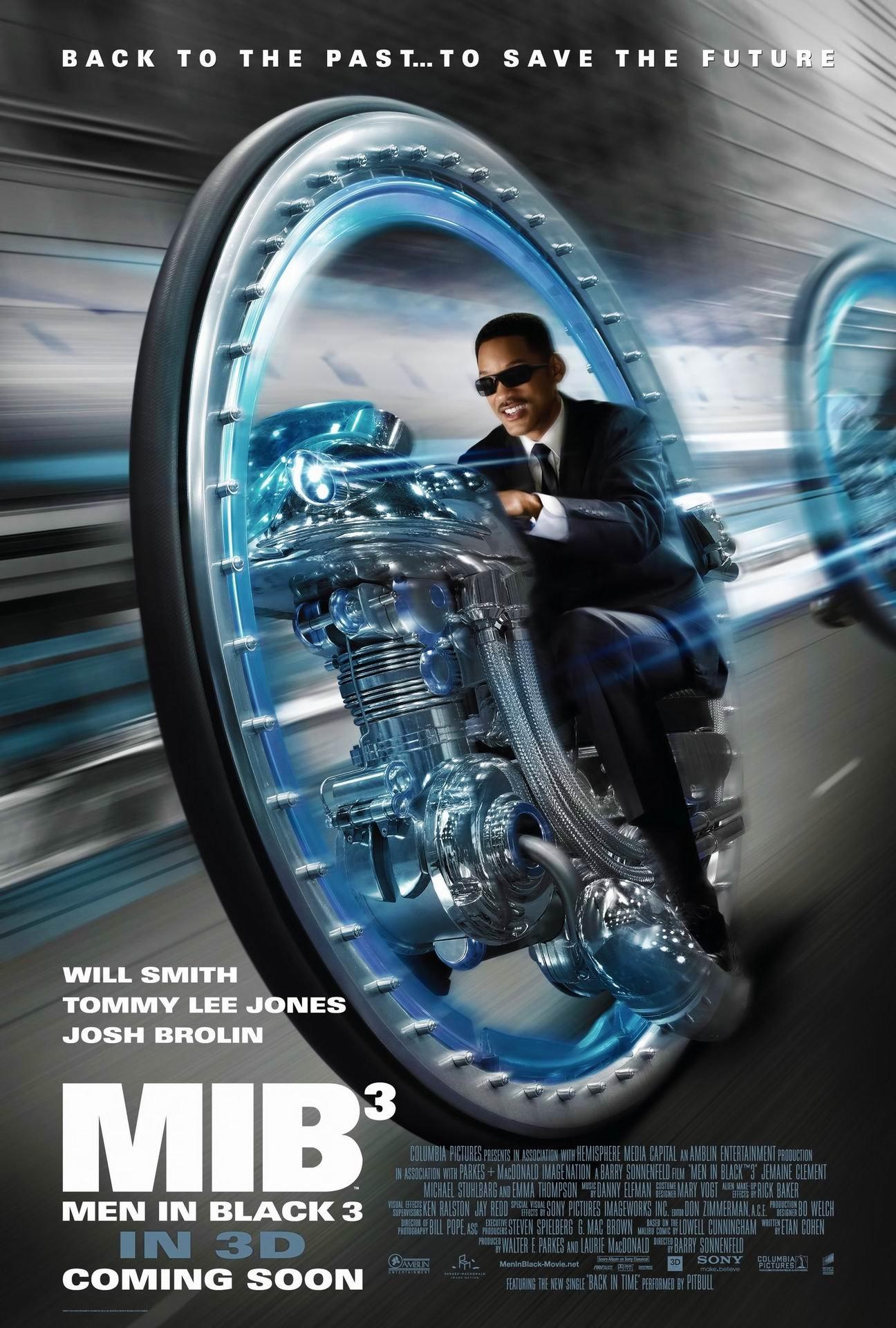 Men in Black 3 (2012) poster - FreeMoviePosters.net