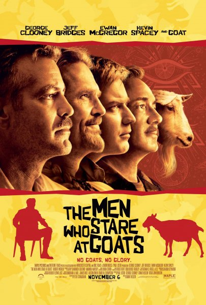 Men Who Stare at Goats, The poster
